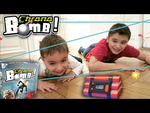 JEU - CHRONO BOMB - 💣💥Désamorce la bombe avant l'explosion ! - Jeu d'action et de Réflexe
