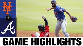 Braves' arms combine for shutout in 4-0 win | Mets-Braves Game Highlights 8/2/20