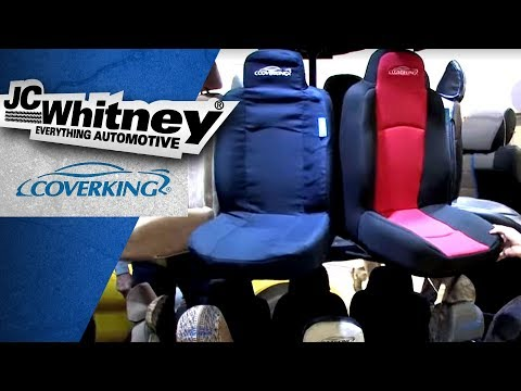 Coverking Seat Covers—widest variety of materials in the industry!