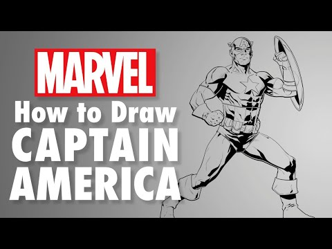 How to Draw Captain America LIVE w/ Will Sliney! | Marvel Comics