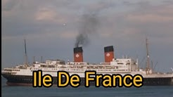 the disaster with the ship Ile De France (movie)