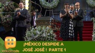 ¡México despide a José José! Parte 1 | Programa del 09 de octubre de 2019 | Ventaneando