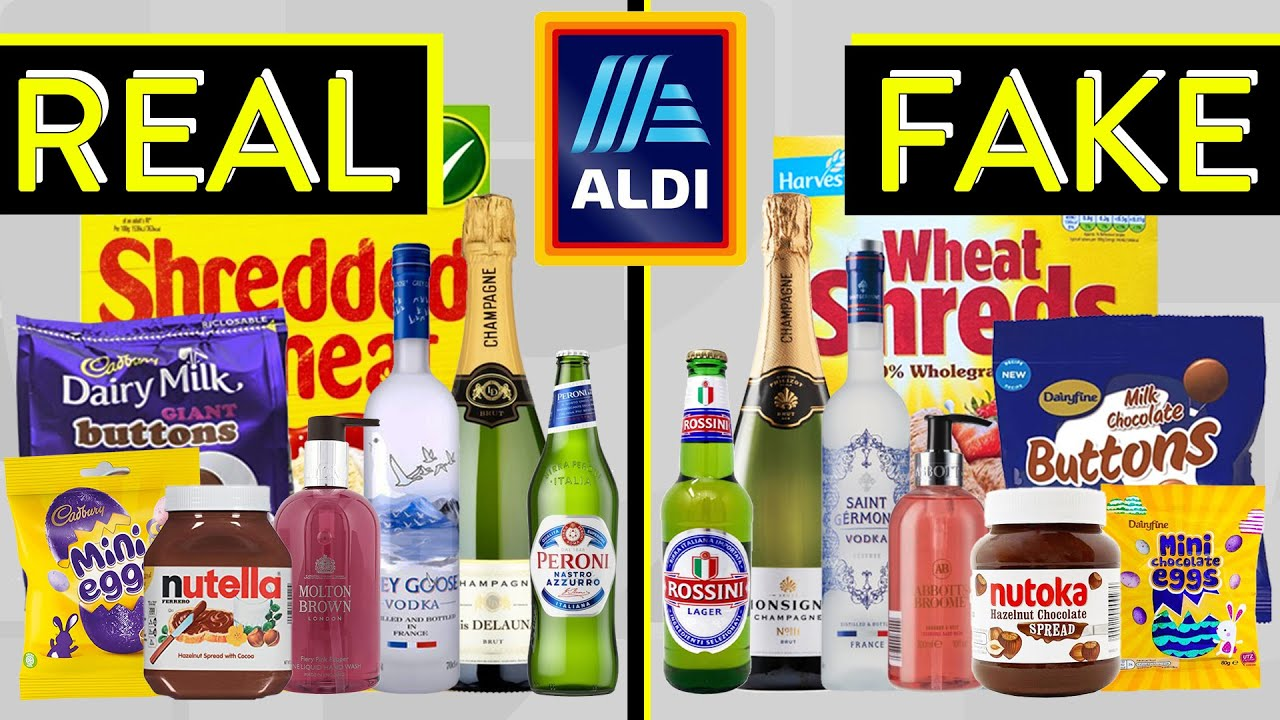 How Aldi Get Away With Stealing From Other Brands