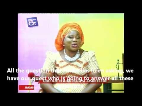 TV Interview - Pig farming a source of wealth