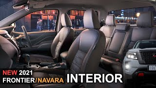 Nissan Frontier 2021 Interior or 4x4 Nissan Navara Np300 Interior inside New Crew...
