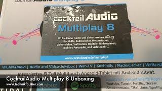 CocktailAudio Multiplay 8 Unboxing