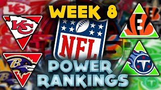 The Official 2021 NFL Power Rankings Week 8 Edition    TPS