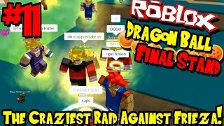 SUPER SAIYAN 2! A INCURSÃO MAIS LOUCA CONTRA A FRIEZA! | Roblox: Dragon Ball final stand-Episódio 11