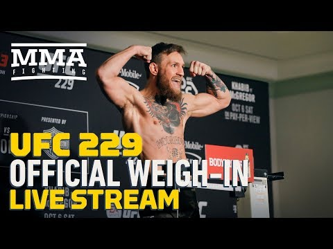 UFC 229 Official Weigh-ins - MMA Fighting