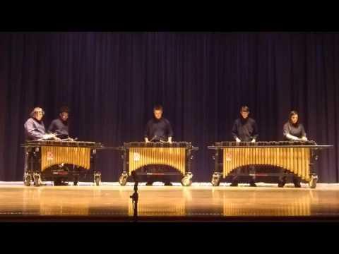 "PRISM 2016 Brunswick High School - Mallet Quintet ""Rudimental Ragtime"""