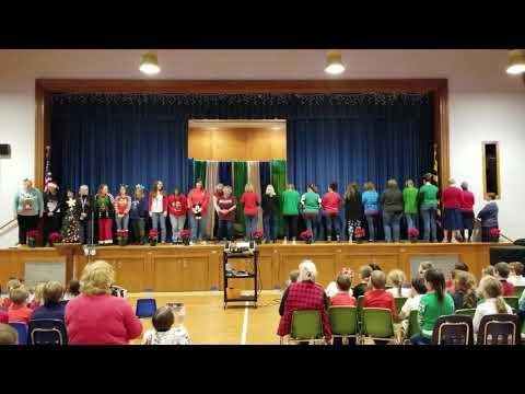 "Mother Seton School""The 12 Days of Christmas"" - Teacher Style"