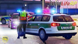 Der ZOLL stoppt Schwarzarbeit! 🛂 - GTA 5 WildLifeRP #14 - Daniel Gaming