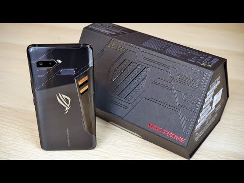 ASUS ROG Phone Unboxing and First Impressions