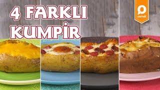 4 Farklı Kumpir Tarifi - Onedio Yemek - Tek Malzeme Çok Tarif