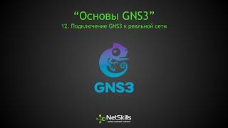 12.Основы GNS3. Подключение GNS3 к реальной сети