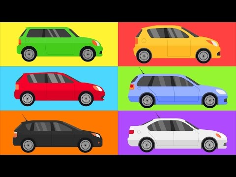 Thumbnail: CARS for Kids. Learn COLORS for Kids