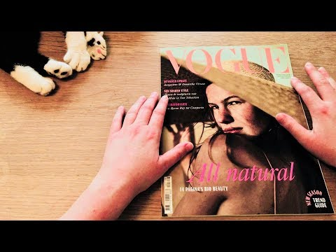 ASMR Vogue Magazine 2018