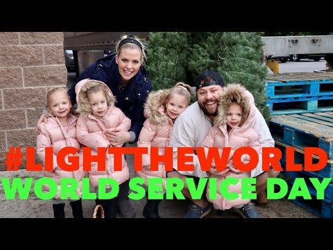 LIGHT THE WORLD- WORLD SERVICE DAY