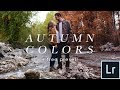Lightroom Autumn Color Tutorial (Free Preset!) Make Any Photo Look Like Fall!