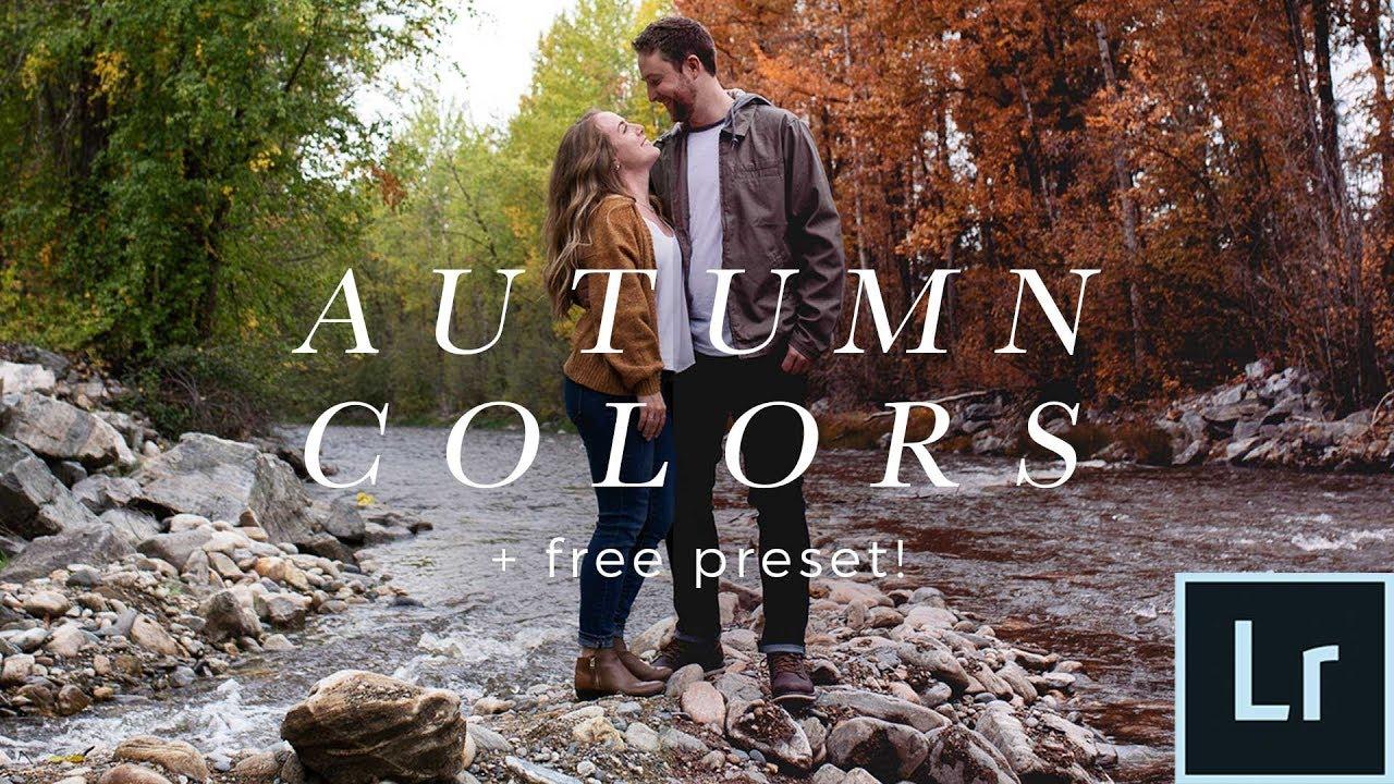 [VIDEO] – Lightroom Autumn Color Tutorial (Free Preset!) Make Any Photo Look Like Fall!