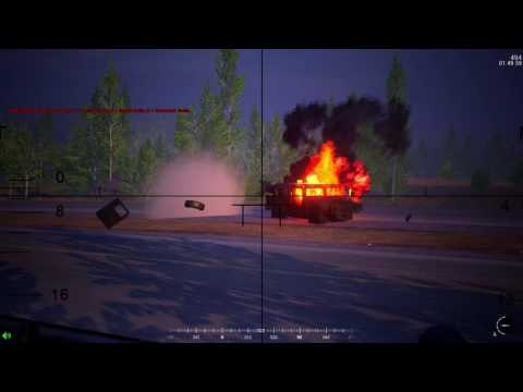 Russia distroying american forces with btrs. Squad v8.8