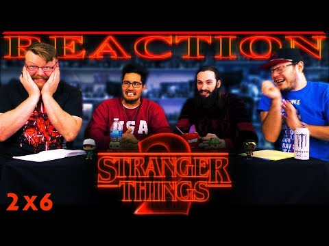 "Stranger Things 2x6 REACTION!! ""Chapter Six: The Spy"""