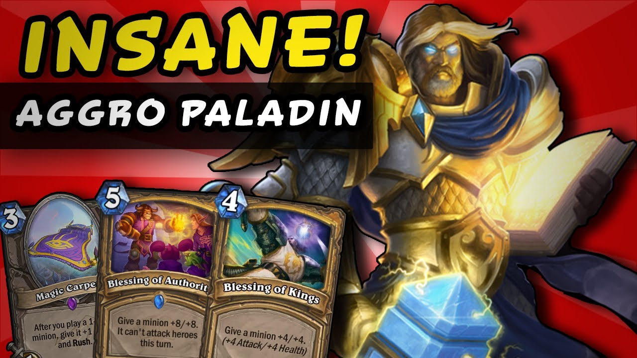 SHE IS INSANE! In Paladin - YouTube