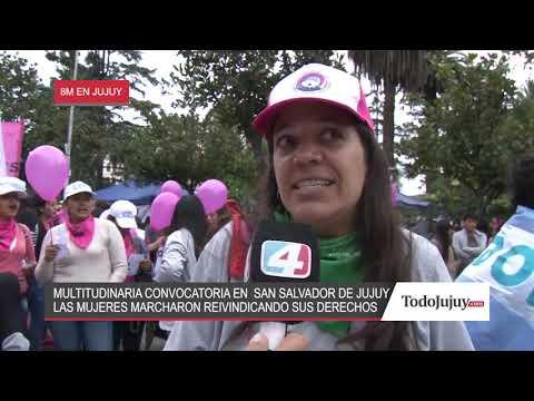 8M en Jujuy: pidiendo por igualdad
