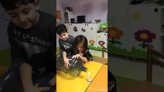 Anasınıfı 6 yaş B / Fen ve Doğa / Damacana ile Mum Söndürme - Su Değirmeni - Vakumlu Mum