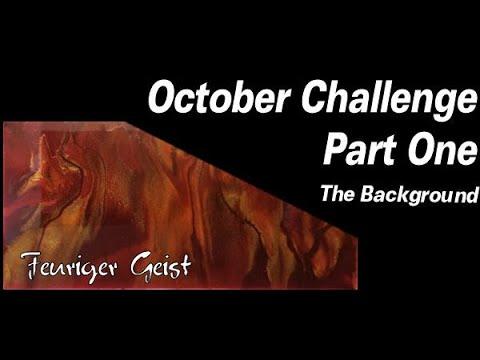 October Challenge Part 1 | Resin Pouring | Resin Tutorial | Resin Cells | Resin For Beginners