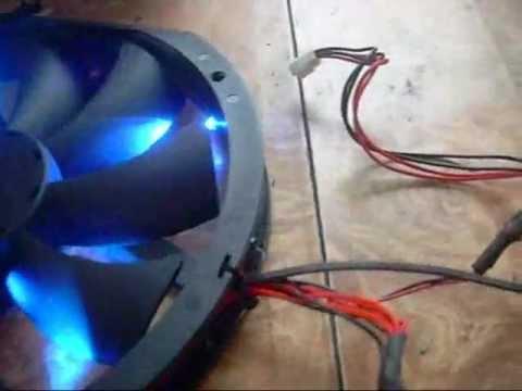 Antec BigBoy 200 Mm Fan LED Mod