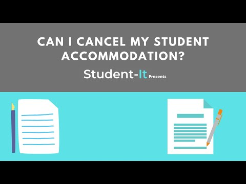 Can I Cancel My Student Accommodation