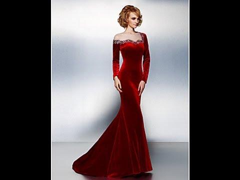 Смотреть вечерние платья видео
