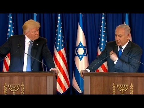 Trump Meets With Israeli PM Netanyahu (full Speech)