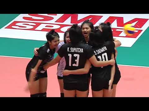 SMM 12th Asian Est Cola Women's U17 Volleyball Championship / THA vs TPE