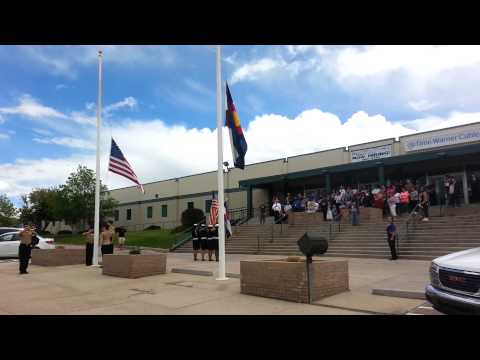 MESA RIDGE NJROTC Memorial Day Dedication 2015