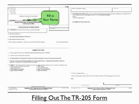 TicketKick Step by Step Guide to Filling out the TR-205 Form - YouTube