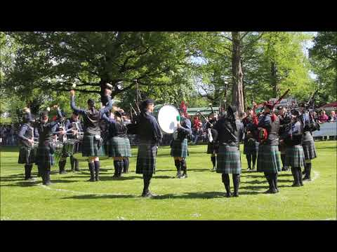 Peine 2018 - Owl Town Pipe & Drum Band