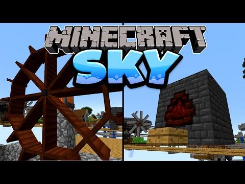 Coke Oven & Immersive Engineering! - Minecraft SKY Folge #06