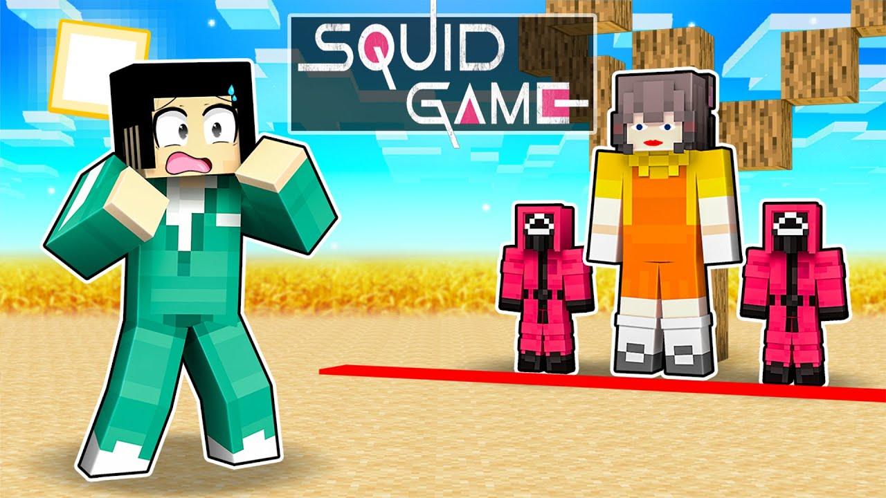 Download SQUID GAME IN MINECRAFT! (Minecraft Movie)