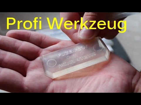 Silikon Fuge Ziehen Anleitung Fugen Boy Set Youtube