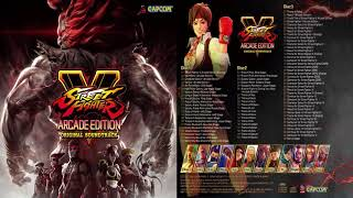STREET FIGHTER V ARCADE EDITION SOUNDTRACK OST