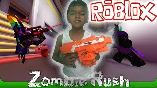 LETS PLAY ROBLOX! GAMING WITH NIK! BEST ZOMBIE GAME EVER! BEST ZOMBIE GAME 2017! PART TWO! ZOMBIE RUSH!