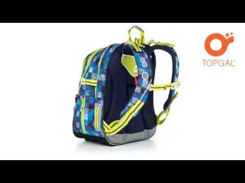 animace - školní batoh TOPGAL CHI 870 D - YouTube 1e1a47e65d