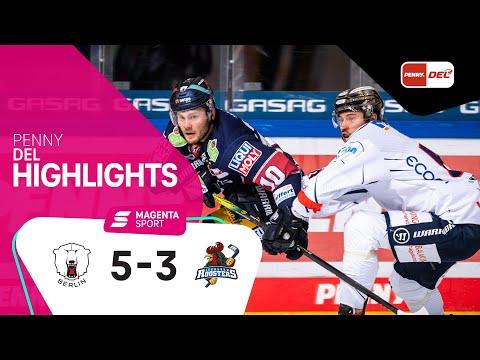 Eisbären Berlin - Iserlohn Roosters | Viertelfinale, Spiel 3, 2020/2021 | MAGENTA SPORT