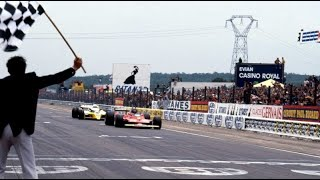 """Duello F1: """"Villeneuve- Arnoux"""" Gp Digione 1979."""