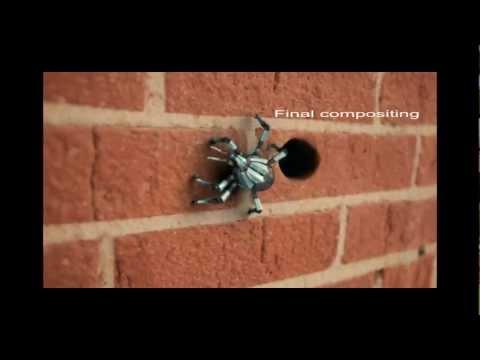 CGI of spider
