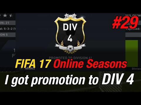 I got promotion to DIV 4 - Fifa 17 Online games #29