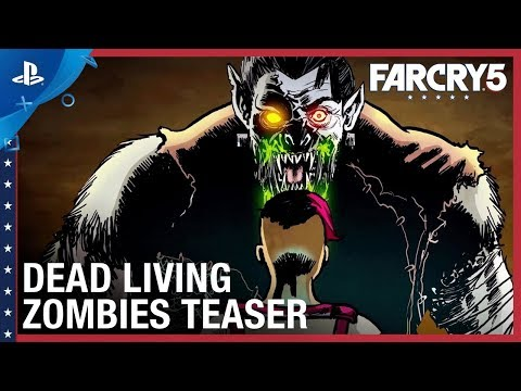 Far Cry 5 - Dead Living Zombies Teaser Trailer | PS4 thumbnail