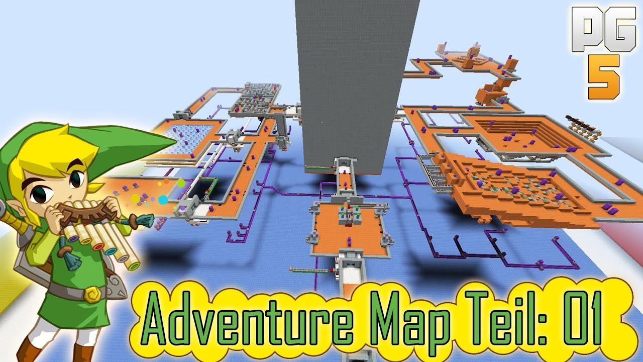 Wir bauen eine Zelda Adventure Map in Minecraft - 01 ( HD | deutsch ...